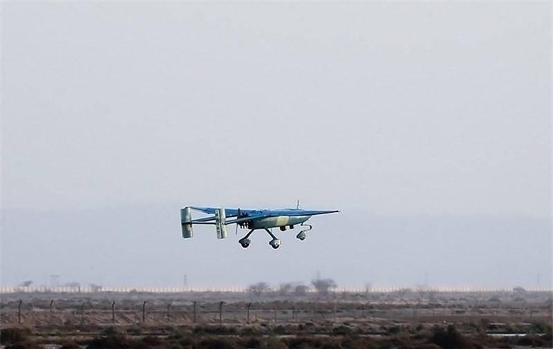 İran üç yeni drone uçağı aldı