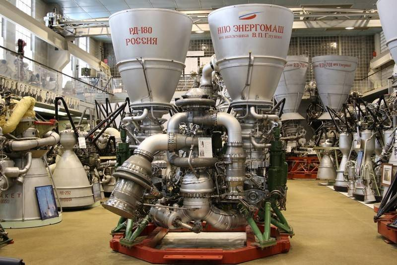 Rogozin announced the readiness of Roskosmos to supply rocket engines to the United States