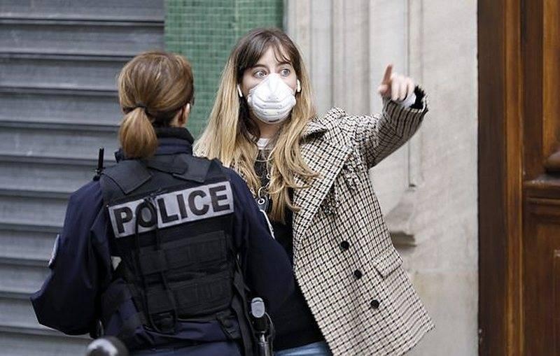 프랑스에서 검역 위반보고