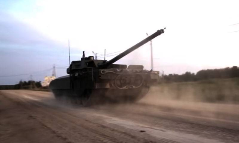 Russia received from abroad applications for the purchase of T-14 Armata tanks