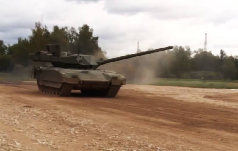 """Signal for NATO"": data on tests of the T-14 Armata tank in the SAR are discussed in the foreign press"
