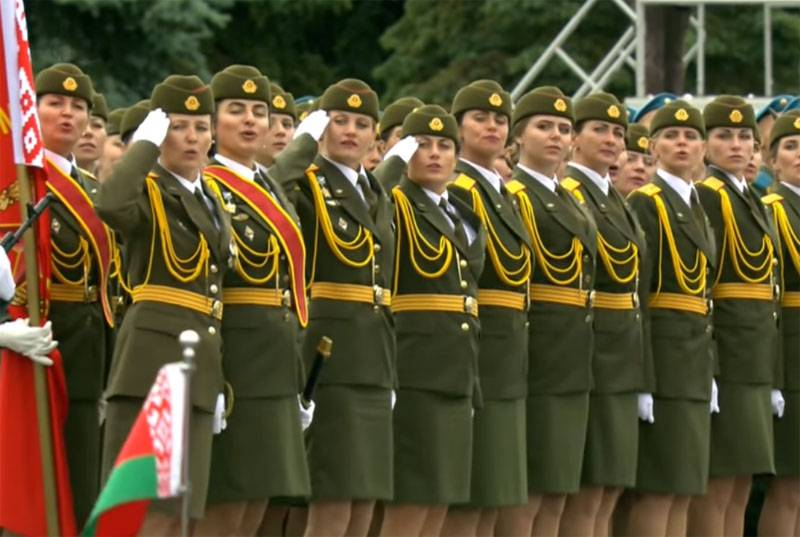 In Belarus, preparations for the May 9 Victory Day parade are ongoing