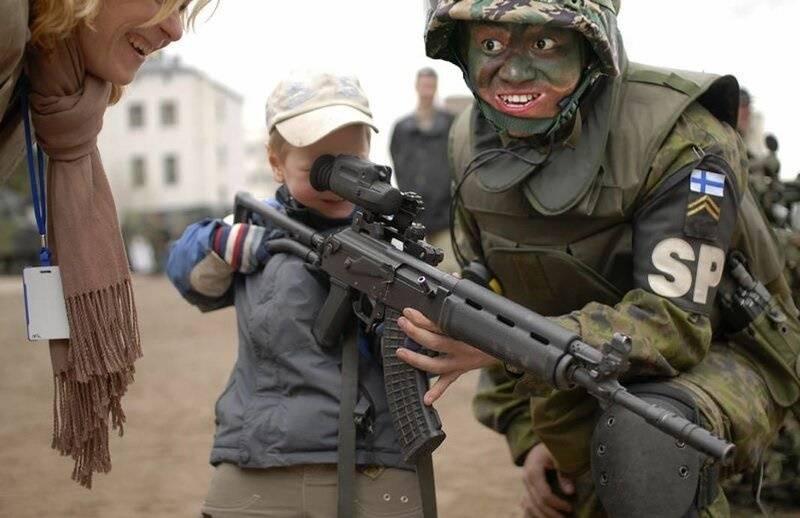 Rk62: Clone finlandais d'un fusil d'assaut Kalachnikov