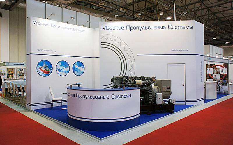 Nella regione di Leningrado ha lanciato la produzione di motori marini
