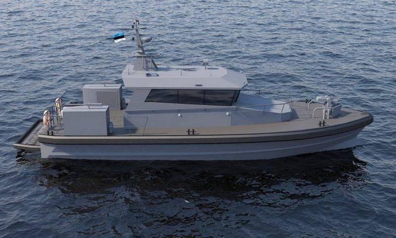 La Marina de Estonia tiene la intención de fortalecer las lanchas patrulleras