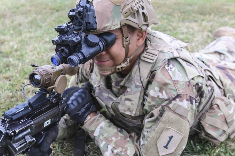 Modern soldier by vocation. Development of surveillance and protection