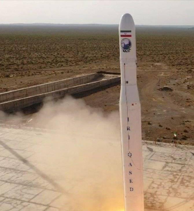 イランの宇宙計画:「メッセンジャー」が軌道に少し「光」を入れた