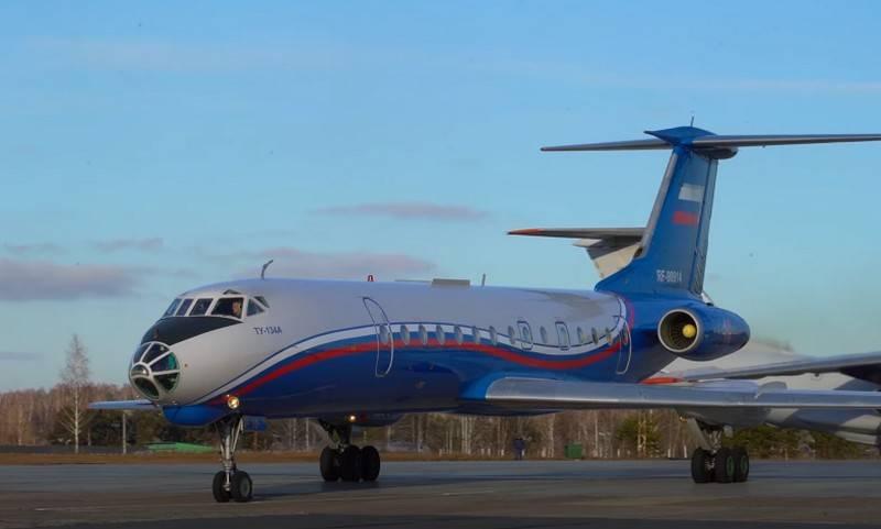 El Ministerio de Defensa continuará operando el Tu-134 hasta 2033.