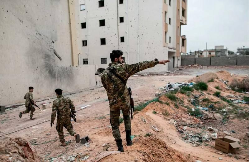 """Das libysche PNS beschuldigt Wagner PMC, """"chemische Waffen"""" eingesetzt zu haben."""