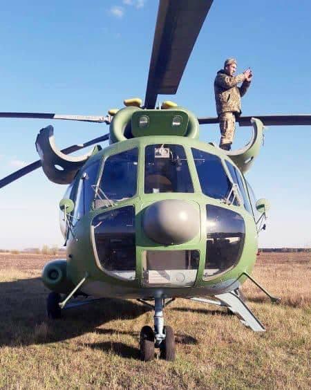 O motivo do pouso de emergência do helicóptero da Força Aérea da Ucrânia no campo perto de Kiev é chamado