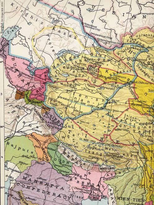 विरोध का नोट। कजाकिस्तान में चीन का दावा