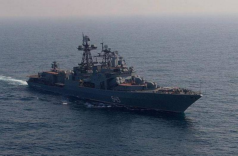 "Pacific Fleet expects to receive frigate ""Marshal Shaposhnikov"" before the end of the year"