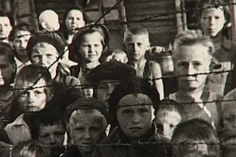 In Finland, they tried to justify the creation of concentration camps in Karelia during the war