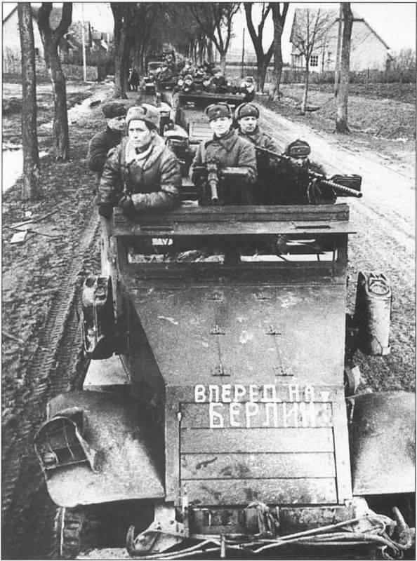Stettin saldırısı. 3. tank ordusu nasıl yok edilir