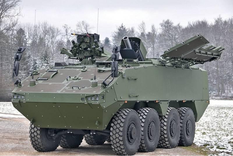 स्विस सेना ने मॉसर को 16 स्व-चालित मोर्टार सिस्टम का आदेश दिया