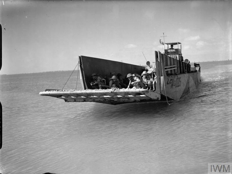 Bateaux de débarquement LCM