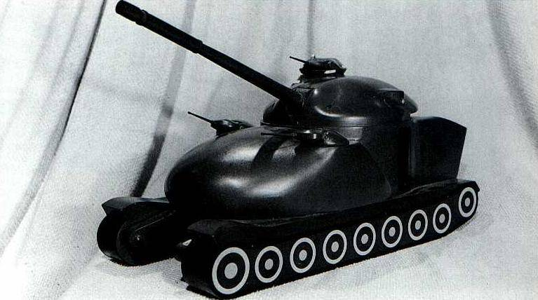 Why the USA did not receive nuclear tanks