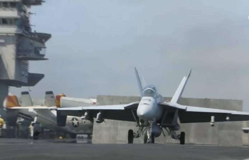 Die US Navy erhielt den neuesten F / A-18 Super Hornet Block 2 Jäger