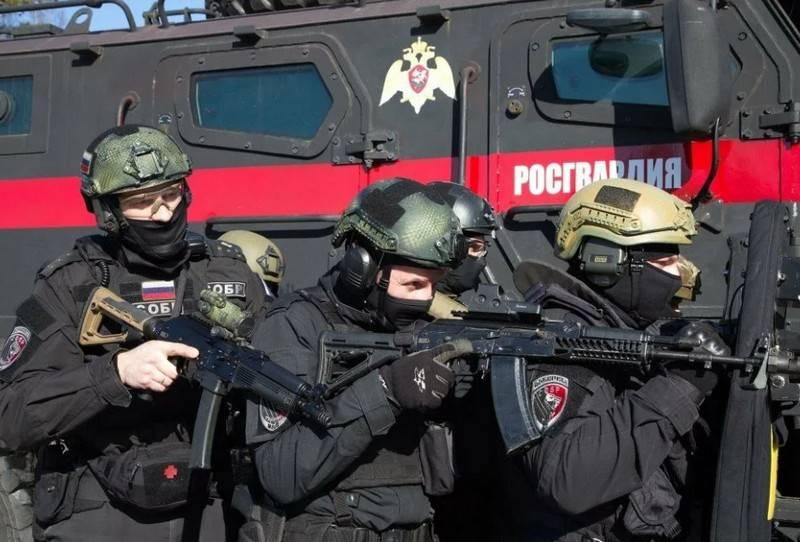 In Russland die Ausschreibung der russischen Garde für den Kauf von Handgranaten RGN