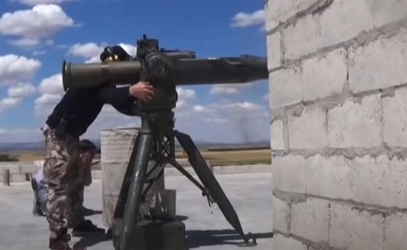 One in a million case: a bird rescues a tank from ATGM
