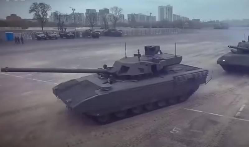 Em Kiev, anunciou a origem ucraniana do T-14 Armata
