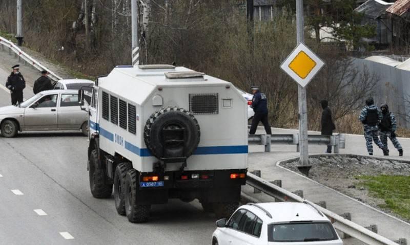 Tre terroristi neutralizzati vicino a Ekaterinburg