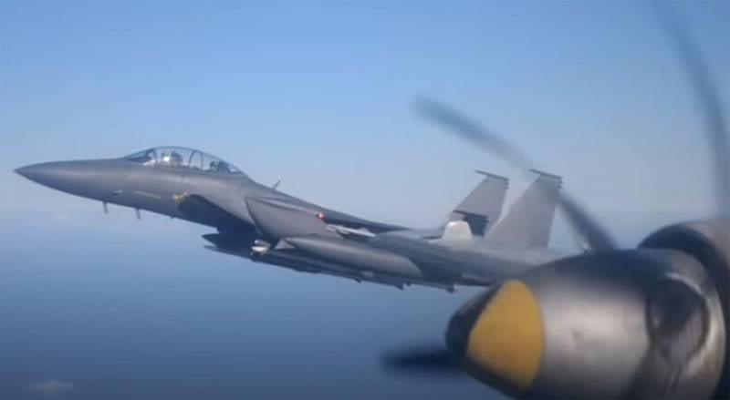 Странности реакции на подлёт Ил-38 к авианосцу «Джордж Вашингтон» ВМС США