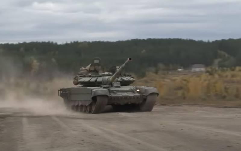 국방부는 지상군에 T-72B3 탱크 공급 계획 발표