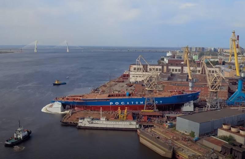 プロジェクト22220のXNUMX番目の砕氷船の敷設日と呼ばれるバルト海造船所で