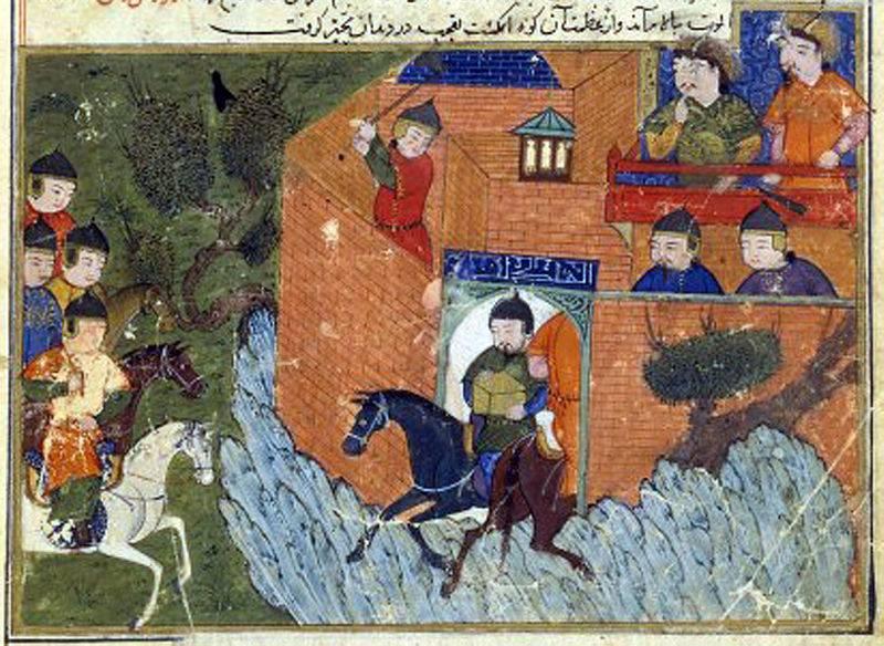 मध्यकालीन ईरान की लातीनी