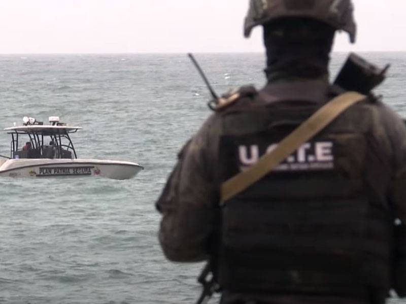 Battle in the coastal zone: armed mercenaries tried to break through to Venezuela on a speed boat