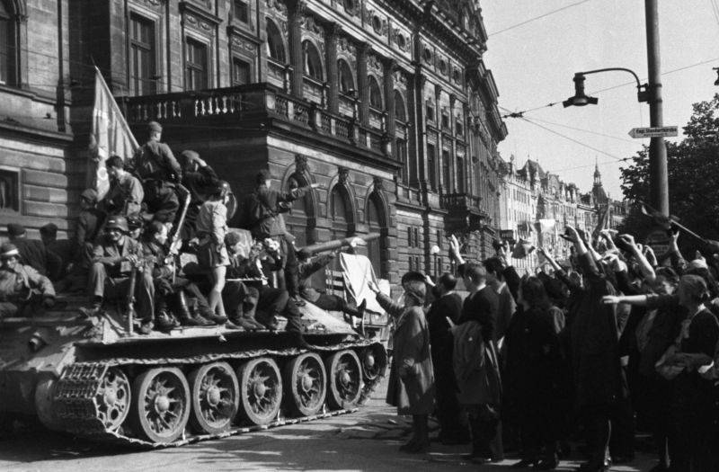 The last volleys of the Great Patriotic War