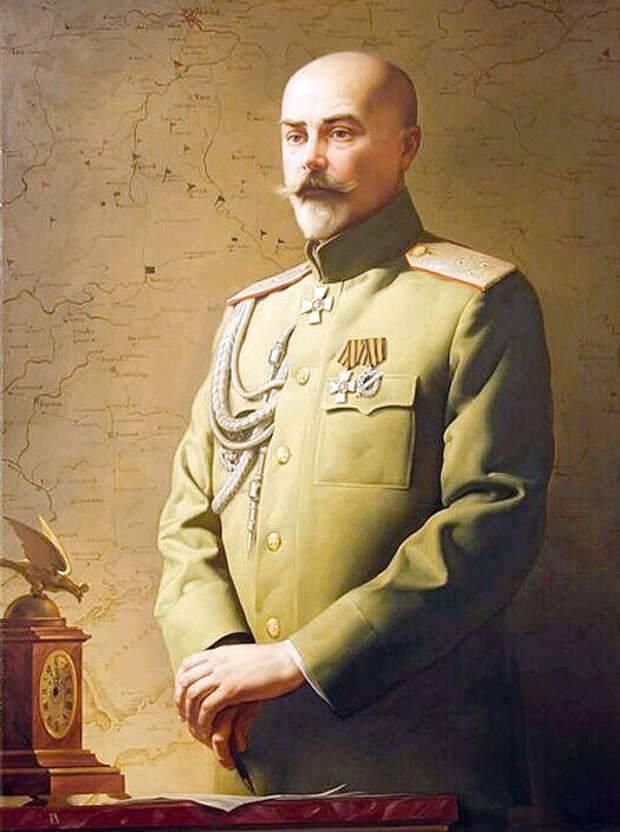 Ultimi ringraziamenti al generale Denikin