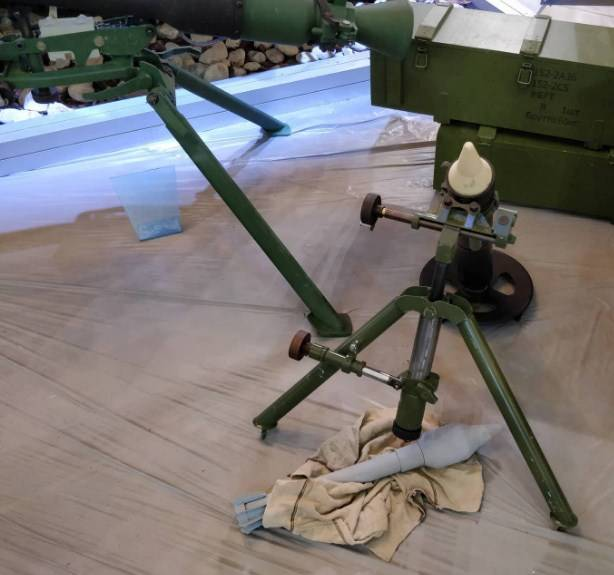 Silent mortar shot: what are the features of the new project for the APU