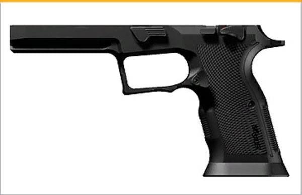 Noticias sobre pistolas 2020: controvertido P320 X-FIVE ALPHA con pesas de tungsteno