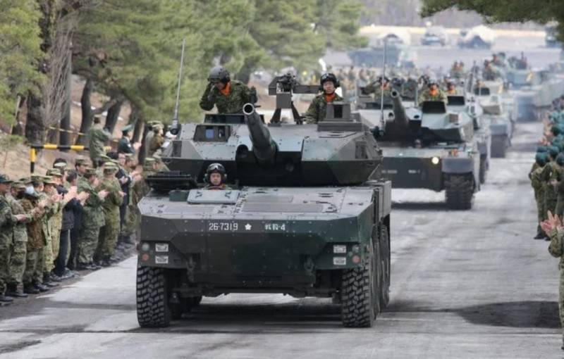 Japan continues to replace MBT with wheeled tank destroyers Type 16