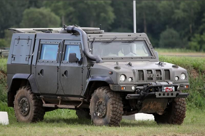 L'armée russe n'est jamais venue: à propos de la jeep blindée italienne IVECO