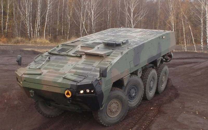 In Poland, a decision was made to purchase the Wolverine armored personnel carrier