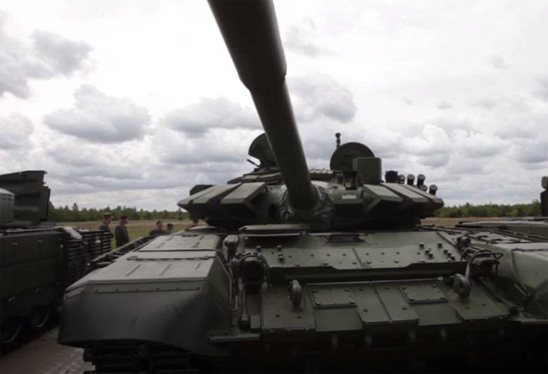 Poland calls for response to increase in the number of T-72B3 tanks in Belarus