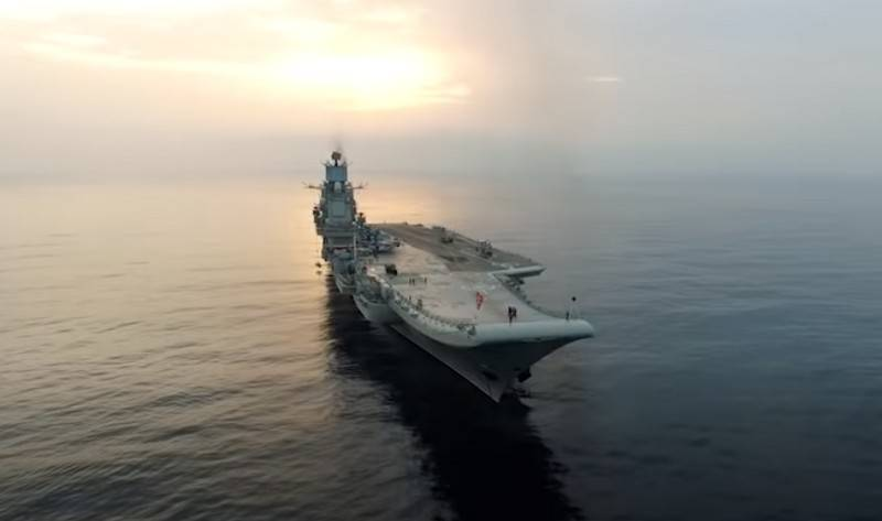 "Announced plans for sea trials TAVKR ""Admiral Kuznetsov"""