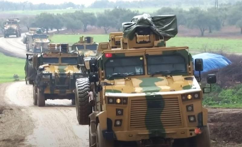 El 9 de mayo, Turquía presentó un nuevo convoy a Idlib: el número total de fuerzas armadas turcas en Siria