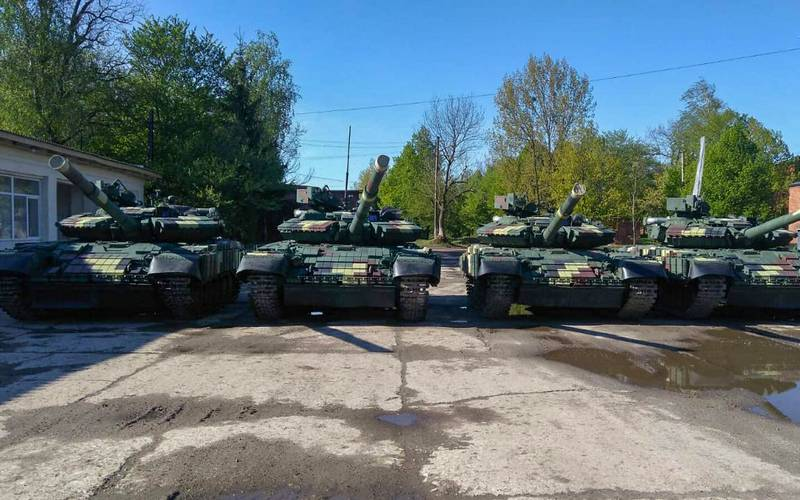 APU received a new batch of modernized tanks T-64 and T-72