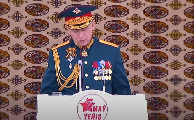 Le réseau discute d'un défilé militaire coloré au Turkménistan dédié au 75e anniversaire de la Victoire