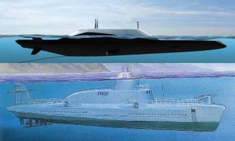 XNUMXつの環境の境界。 ダイビング船:歴史と展望