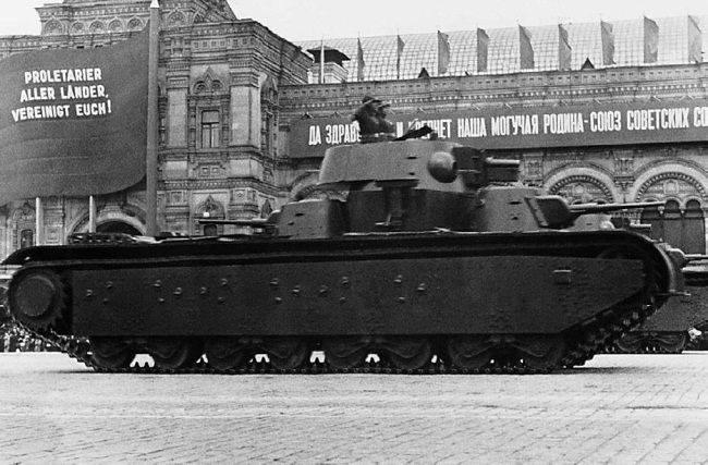 Dispositivos de fumaça para o tanque T-35
