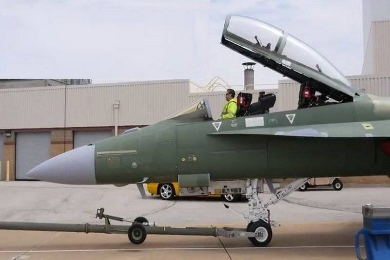 Boeing has assembled the first fighter of the new version of the F / A-18 Super Hornet Block-3