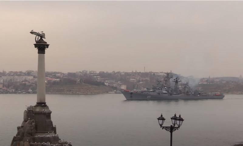 """Dikkatli gemi """"Shrewd"""" Karadeniz Filosu rıhtım onarımına girecek"""
