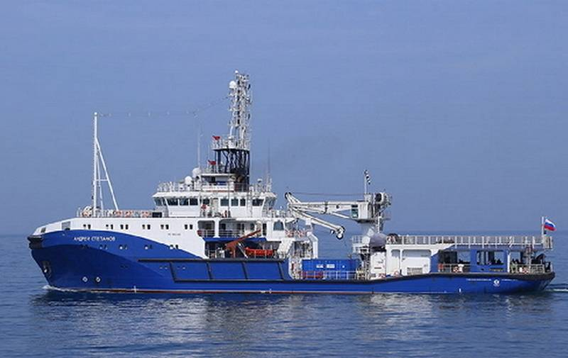 The first serial marine tug of project 23470 went on sea trials
