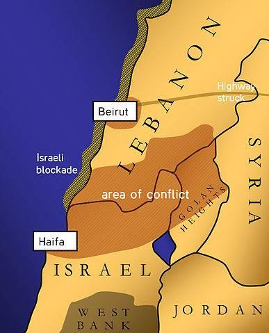 第二次レバノン戦争。 空襲が少なかった理由