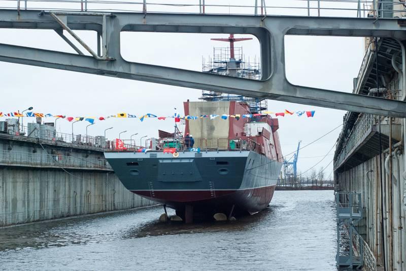 Les chantiers navals de la mer Baltique ont repris pleinement leurs travaux